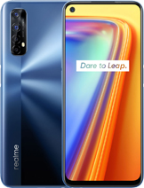 "Realme 7 (Asia) layar 6.5 inches, 102.0 cm2 (~83.4% screen-to-body ratio) kamera Quad Camera 64 MP, f/1.8, 26mm (wide), 1/1.73"", 0.8µm, PDAF 8 MP, f/2.3, 119˚, 16mm (ultrawide), 1/4.0"", 1.12µm 2 MP, f/2.4, (macro) 2 MP, f/2.4, (depth) baterai Li-Po 5000 mAh, non-removable, Fast charging 30W, 50% in 26 min, 100% in 65 min (advertised) memori 64GB 6GB RAM, 128GB 8GB RAM, UFS 2.1 prosesor Mediatek Helio G95 (12 nm) Mali-G76 MC4 Octa-core (2x2.05 GHz Cortex-A76 & 6x2.0 GHz Cortex-A55) Android 10, Realme UI jaringan GSM, HSPA, LTE layar IPS LCD, 90Hz, 480 nits (typ) warna Mist Blue, Mist White Realme 7 (Asia) rilis September 2020 harga Realme 7 (Asia) sim card Dual SIM (Nano-SIM, dual stand-by)"