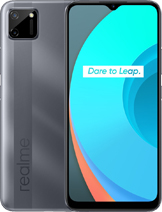 Realme C11 layar 6.5 inches, 102.0 cm2 (~81.7% screen-to-body ratio) kamera Dual Camera 13 MP, f/2.2, (wide), PDAF 2 MP, f/2.4, (depth) baterai Li-Po 5000 mAh, non-removable, Charging 10W memori 32GB 2GB RAM, eMMC 5.1 prosesor MediaTek Helio G35 (12 nm) PowerVR GE8320 Octa-core (4x2.3 GHz Cortex-A53 & 4x1.8 GHz Cortex-A53) Android 10, realme UI 1.0 jaringan GSM, HSPA, LTE layar IPS LCD warna Mint Green, Pepper Grey Realme C11 rilis Juli 2020 harga Realme C11 sim card Dual SIM (Nano-SIM, dual stand-by)