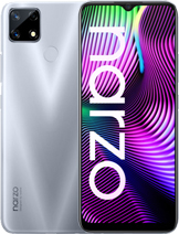 "Realme Narzo 20 layar 6.5 inches, 102.0 cm2 (~81.7% screen-to-body ratio) kamera Triple Camera 48 MP, f/1.8, 26mm (wide), 1/2.0"", 0.8µm, PDAF 8 MP, f/2.3, 119˚ (ultrawide), 1/4.0"", 1.12µm 2 MP, f/2.4, (macro) baterai Li-Po 6000 mAh, non-removable, Fast charging 18W Reverse charging memori 64GB 4GB RAM, 128GB 4GB RAM, eMMC 5.1 prosesor MediaTek Helio G85 (12nm) Mali-G52 MC2 Octa-core (2x2.0 GHz Cortex-A75 & 6x1.8 GHz Cortex-A55) Android 10, Realme UI jaringan GSM, HSPA, LTE layar IPS LCD warna Glory Silver, Victory Blue Realme Narzo 20 rilis September 2020 harga Realme Narzo 20 sim card Dual SIM (Nano-SIM, dual stand-by)"