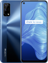 "Realme V5 5G layar 6.5 inches, 102.0 cm2 (~83.9% screen-to-body ratio) kamera Quad Camera 48 MP, f/1.8, 25mm (wide), 1/2.0"", 0.8µm, PDAF 8 MP, f/2.3, 119˚ (ultrawide), 1/4.0"", 1.12µm 2 MP, f/2.4, (macro) 2 MP, f/2.4, (depth) baterai Li-Po 5000 mAh, non-removable, Fast charging 30W, 100% in 65 min (advertised) memori 128GB 6GB RAM, 128GB 8GB RAM, UFS 2.1 prosesor MediaTek Dimensity 720 5G (7 nm) Mali-G57 MC3 Octa-core (2x2.0 GHz Cortex-A76 & 6x2.0 GHz Cortex-A55) Android 10, Realme UI 1.0 jaringan GSM, CDMA, HSPA, EVDO, LTE, 5G layar IPS LCD, 90Hz warna Blue, Silver, Mint Realme V5 5G rilis Agustus 2020 harga Realme V5 5G sim card Dual SIM (Nano-SIM, dual stand-by)"