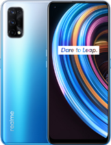 "Realme X7 Pro layar 6.55 inches, 103.6 cm2 (~85.8% screen-to-body ratio) kamera Quad Camera 64 MP, f/1.8, 26mm (wide), 1/1.72"", 0.8µm, PDAF 8 MP, f/2.3, 119˚, 16mm (ultrawide), 1/4.0"", 1.12µm 2 MP, f/2.4, (macro) 2 MP, f/2.4, (depth) baterai Li-Po 4500 mAh, non-removable, Fast charging 65W, 100% in 35 min (advertised) memori 128GB 6GB RAM, 128GB 8GB RAM, 256GB 8GB RAM, UFS 2.1 prosesor Mediatek Dimensity 1000+ (7nm) Mali-G77 MC9 Octa-core (4x2.6 GHz Cortex-A77 & 4x2.0 GHz Cortex-A55) Android 10, Realme UI jaringan GSM, CDMA, HSPA, EVDO, LTE, 5G layar Super AMOLED, 120Hz warna Dark Blue, White, Rainbow Realme X7 Pro rilis September 2020 harga Realme X7 Pro sim card Dual SIM (Nano-SIM, dual stand-by)"