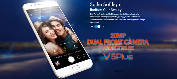 Vivo V5 Plus Dual Front Camera Perfect Selfie